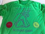 T-shirt hond belt