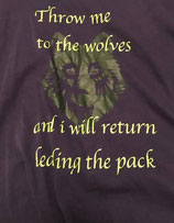 T-shirt wolven