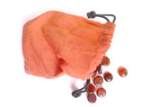 Rote Rechenchips - Glasnuggets - 100 Stück