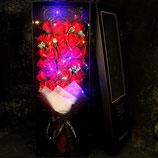 cf006 - 生日礼物送女生新香皂花33朵仿真玫瑰花束肥皂花礼盒玫瑰