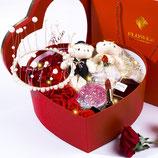cf004-520情人节礼物送女朋友妻子创意浪漫走心实用惊喜表白礼盒玫瑰花  包邮