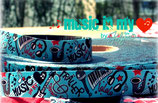 Music in my heart Webband