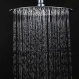 12 Inch Ultra Thin Chrome Round Shower Head