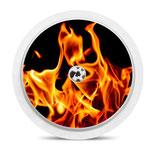 Freestyle Libre Sensorsticker - Flames