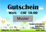 Gutschein CHF 10.00