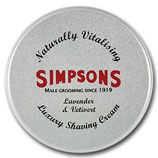 Simpsons Luxury Shaving Cream 125ml
