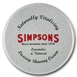 Simpsons Luxury Shaving Cream 125ml