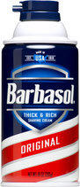 Barbasol original shave cream 283gr