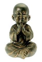 """GD500957 Buddha Urne """"Shaolin"""" in Bronzeoptik - 3,2 Liter"""