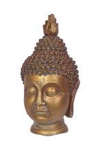 GD-TZ3 Buddha Urne bronzefarben lackiert - 2 Liter
