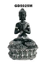 Wunderschöne Buddha Urne im Lotussitz - 1,5 Liter