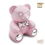 """CBD001 Tierurne """"Teddy"""" aus hochwertigem Messing mit Swarovski-Stein - 1,8 Liter"""