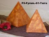 Tierurne in Pyramidenform, veredelt mit Seide in 2 Größen - 1,1 Liter/2,55 Liter