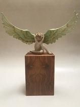 Wunderschöne Engelurne von Künstlerhand bemalt - 3,5 Liter - MVR-EU078D