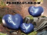 Tierurne in Herzform mit Ornament in verschiedenen Größen - 0,55 Liter/1,25 Liter/2,5 Liter