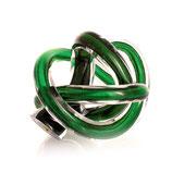 MCA 002-2 Sehr hochwertige Kunst-Tierurne aus Glas in grün - 0,3 Liter