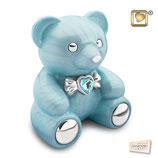 """CBD002 Tierurne """"Teddy"""" aus hochwertigem Messing mit Swarovski-Stein - 1,8 Liter"""