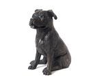 PB-SBT Sehr schöne Hundeurne mit einem Fläschchen für Erinnerungen - 2 Liter