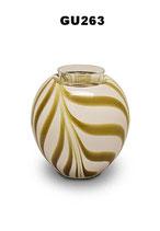 Urne aus böhmischem Glas mit Teelichteinsatz in verschiedenen Ausführungen - 0,3 Liter