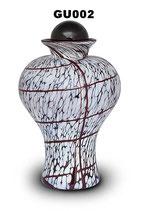 Schöne Tierurne aus böhmischen Glas in verschiedenen Ausführungen - 3,5 Liter