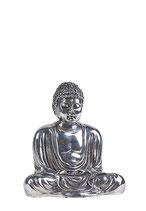 ABNL70095 Mini Buddha Urne von einem Künstler aus Silber - 0,08 Liter