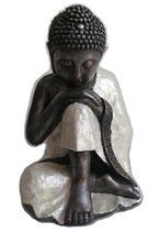 KY1035682 Wunderschöne Buddha Urne mit Perlmutt belegt - 4 Liter