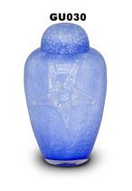 Tierurne aus hochwertigem böhmischem Glas in 2 verschiedenen Farben - 3,3 Liter