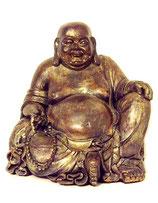 KY1035507 Buddha Urne in altgoldfarben lackiert - 4,5 Liter