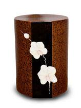P-15606010 Urne aus hochwertiger Keramik mit Blumen verziert - 5 Liter