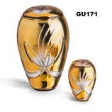 Tierurne aus böhmischem Kristallglas in - 0,4 Liter