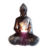 GD307M Buddha Urne mit Teelichthalterung  - 1,5 Liter