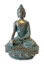 GD14006 Buddha Urne bronzefarben lackiert - 1 Liter
