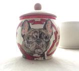 Personalisierte handbemalte Künstler-Urne - ab 0,5 Liter