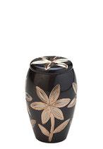 HU250K Tierurne aus Messing mit Blumenmuster - 0,11 Liter