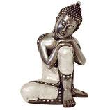 KY1035693 Buddha Urne mit Perlmutt besetzt - 1,9 Liter
