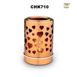 Tierurne aus hochwertigem Messing mit Teelichthalter - 0,2 Liter
