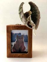 Wunderschöne Bilderrahmenurne von Künstlerhand bemalt - 1,5 Liter - SID008K