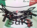Pedane racing Honda CBR 600 RR 03 06