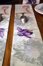 Frise de table Herbacées et autres fleurs...