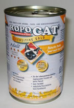 RopoCat Sensitive Gold Pute mit Gemüse