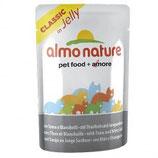 Almo Nature - Nassfutter - Classic in Jelly mit Thunfisch und Jungsardinen