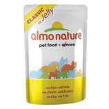 Almo Nature - Nassfutter - Classic in Jelly mit Huhn