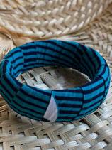 Bracelet 25mm Wax hirondelles turquoise