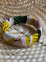 Bracelet 19mm Wax grandes feuilles