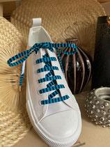 Lacets Wax Hirondelles turquoise