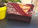 Trousse Wax/jean corail/émeraude/gris