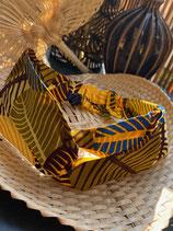 Haedband Wax petites feuilles jaune