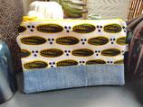 Trousse Wax/jean cauri noir fond blanc