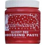 Dreamweaver Embossing Paste: Glossy Red