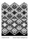 Melt Art Texture Treads - Scalloped Lace